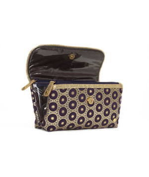 Katie Folding Clutch make up bag