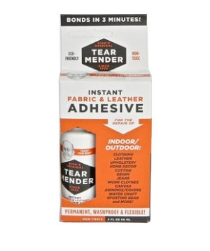 Tear Mender fabric adhesive