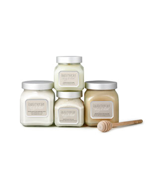 Coconut milk bath and body collection