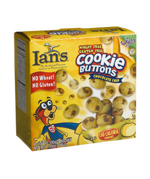 Ian's Chocolate Chip Cookie Buttons