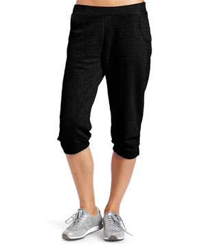 Cropped Fleece Pant by HKNB