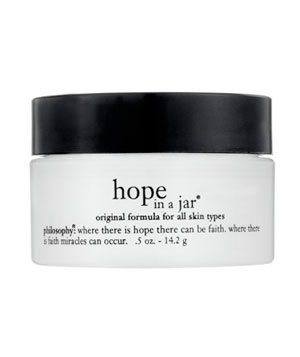 Hope in a Jar moisturizer