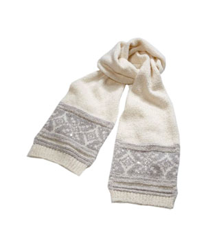 Fair Isle Scarf by American Eagle Outfitters