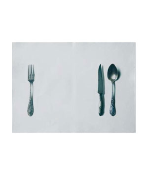 Knife, Fork and Spoon Placemats