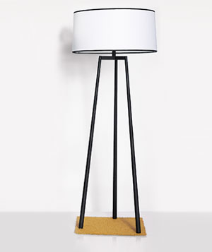 Robert Abbey Shinto tripod lamp