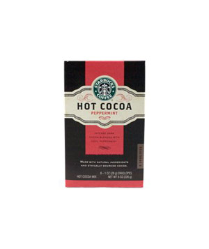 Peppermint Hot Cocoa Mix by Starbucks Coffee
