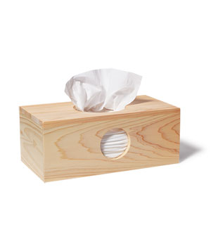 Peephole Tissue Box