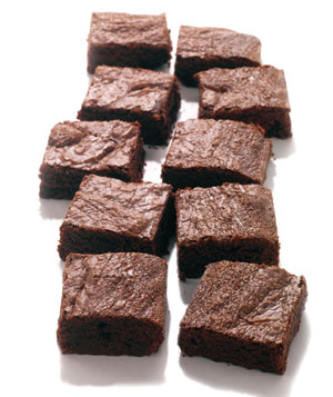 Bittersweet Chocolate Brownies