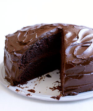 Classic Chocolate Layer Cake Recipe Real Simple