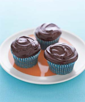 Secret-Ingredient Devil's Food Cupcakes