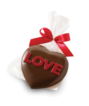 Godiva Milk Chocolate LOVE Heart