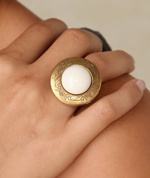 Locket Ring by Jan Michaels