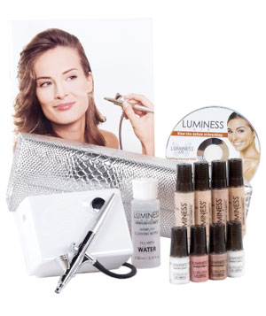 For Flawless Makeup: Luminess Air Beauty Airbrush System