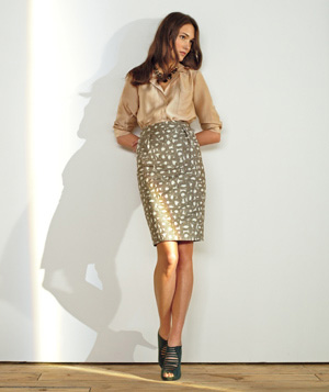 A Patterned Skirt