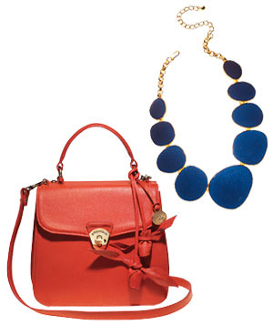Composed Image with bag and necklace