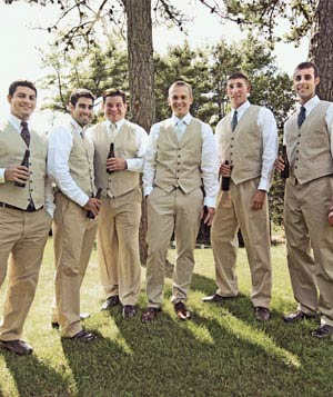 Billy and his groomsmen