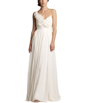 Chiffon and Organza Dune Gown by J. Crew