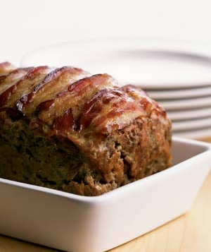25 dishes to warm the heart real simple easy meatloaf recipe with bacon forumfinder Gallery