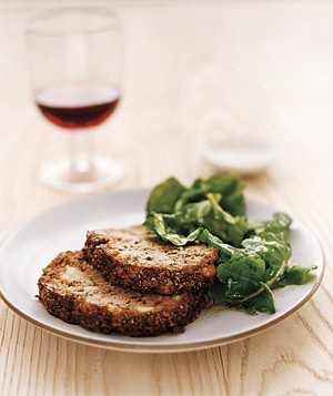 Stuffing Meat Loaf With Marmalade Glaze