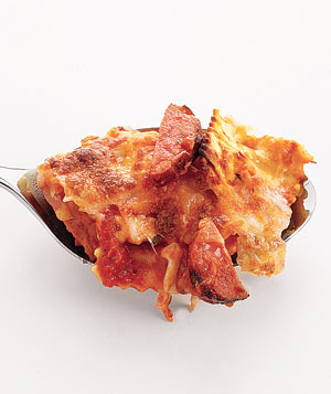 Baked Ravioli With Chicken Sausage