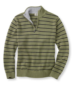 Quarter-Zip Pullover by LL Bean