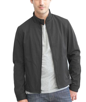 Short-Zip Jacket by Banana Republic