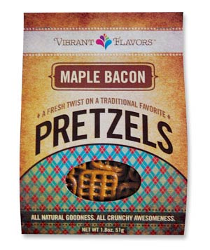 Vibrant Flavors Maple Bacon Pretzels
