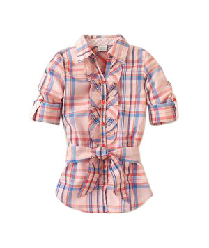 Plaid Woven Tunic by The Children's Place