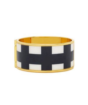 Kate Spade Paper Bangles Check Bangle