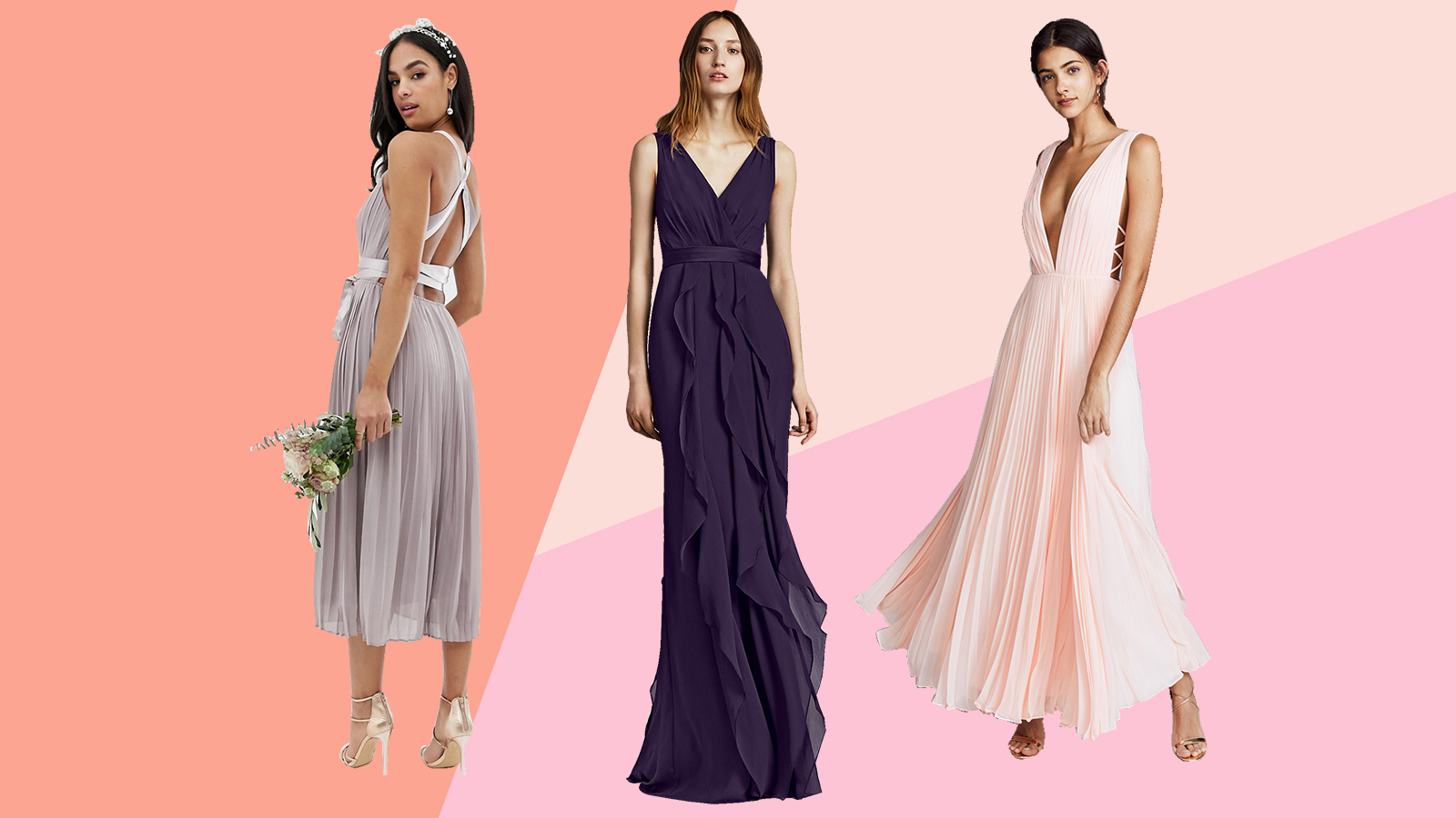 Where to Buy Bridesmaids Dresses Online That Your Bridal Party Will Adore