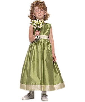 Jenny Yoo flower girl dress