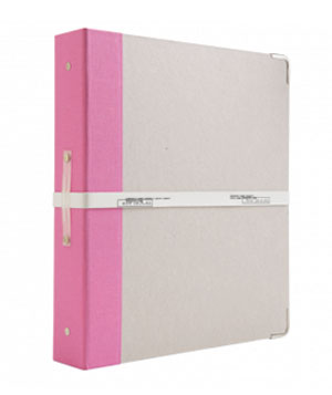 Russell and Hazel Signature Three-Ring Binder