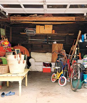 Messy Crafty Garage