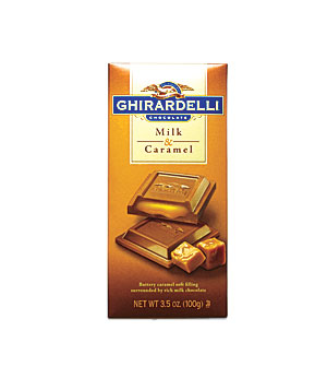 Ghirardelli Milk Chocolate & Caramel