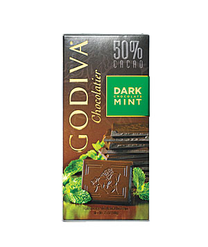 Godiva Dark Chocolate Mint