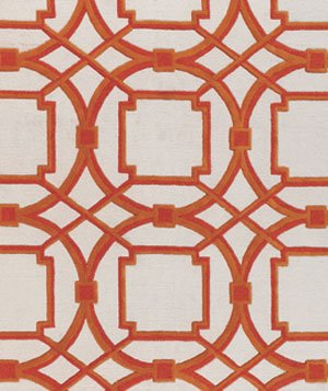 Arabesque rug by Horchow
