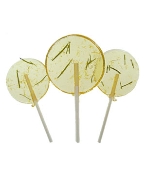 The Groovy Baker Grapefruit-Rosemary Lollipops