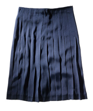 For a Petite Figure: Theory Skirt