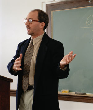 Professor Giving Lecture
