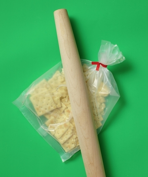 Cereal Bag as Crumb Maker