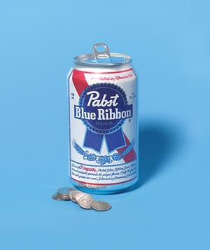 Beer Can as Noise Maker