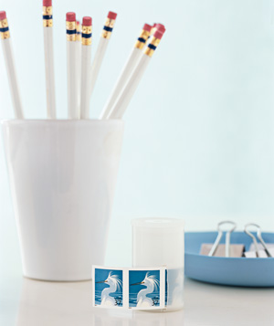 Film Canister as Stamp Dispenser
