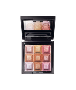 Mark Touch & Glow Shimmer Cream Cubes All Over Face palette,