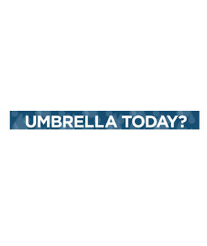 Will I Need an Umbrella Today?