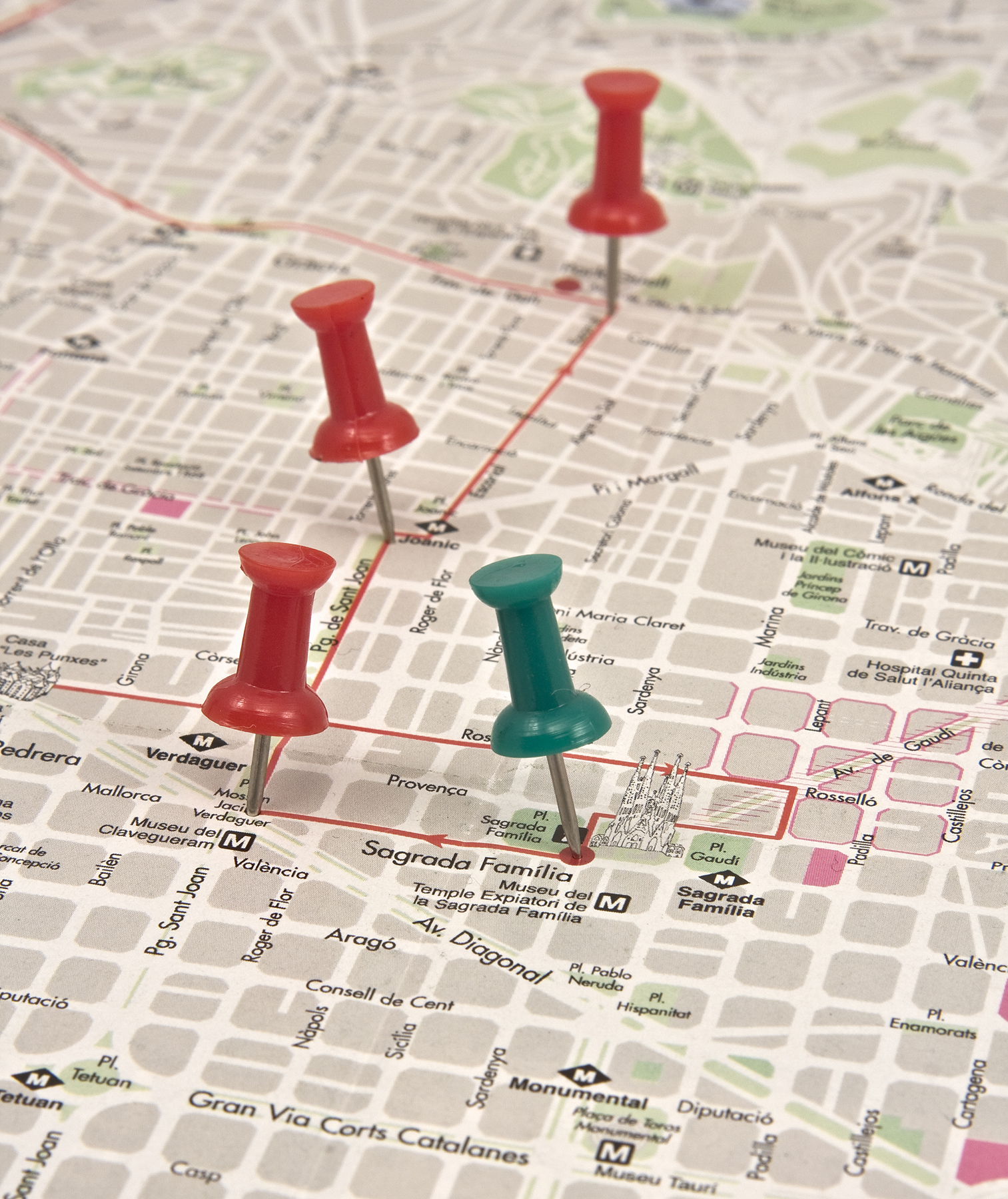 14 fun things to do on a rainy day real simple pushpins in a map solutioingenieria Image collections