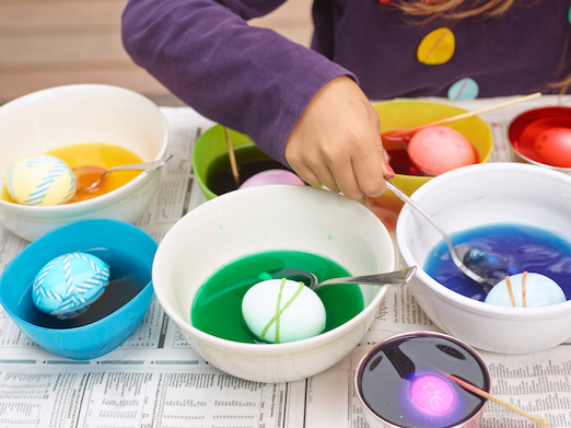 Image result for easter egg dying
