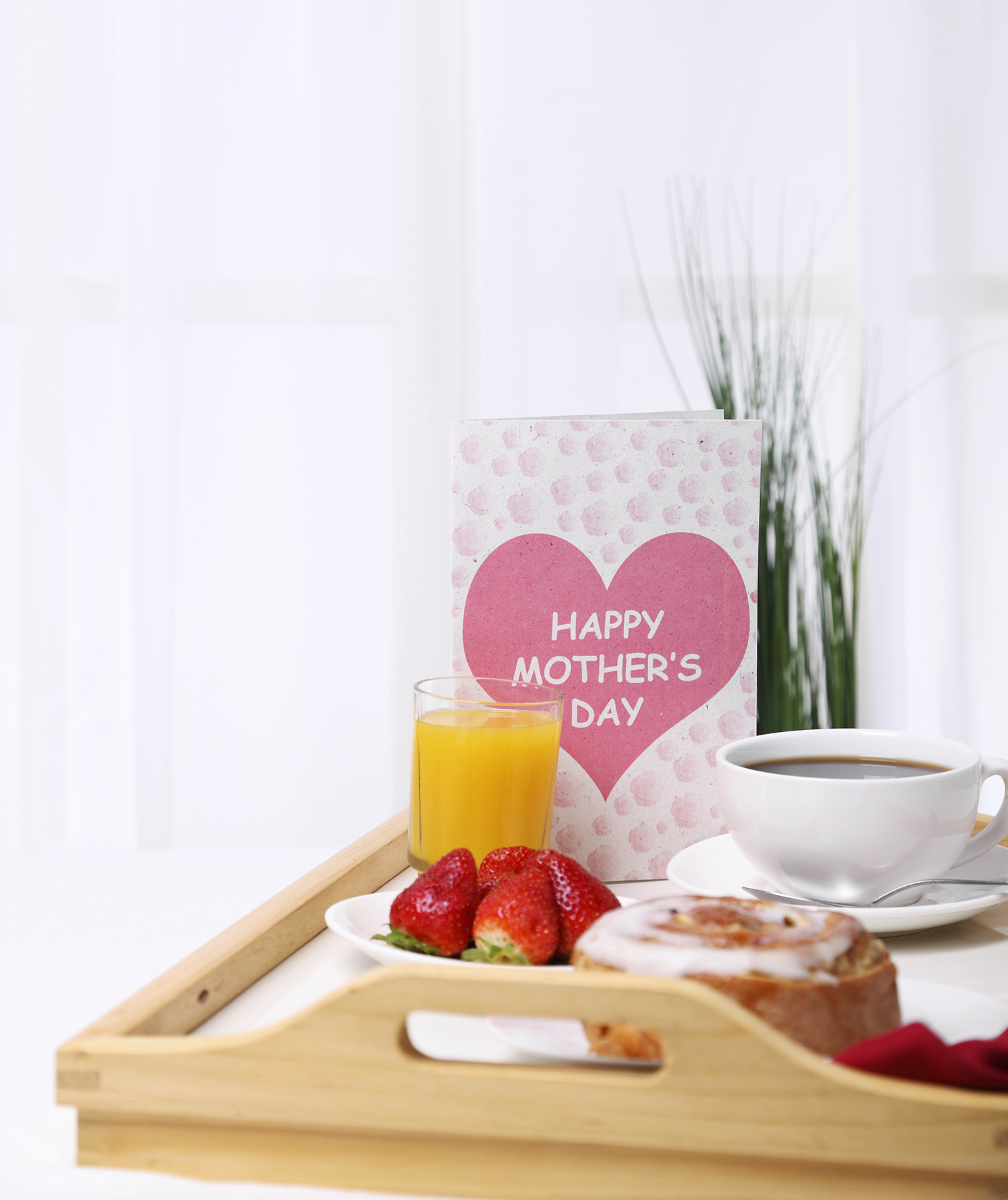 Mother S Day Breakfast In Bed Tray