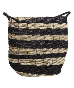 West Elm Ikat Woven Collection—Small Storage Bin