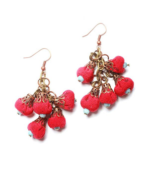 Jous Jous Cherry Blossom Earrings