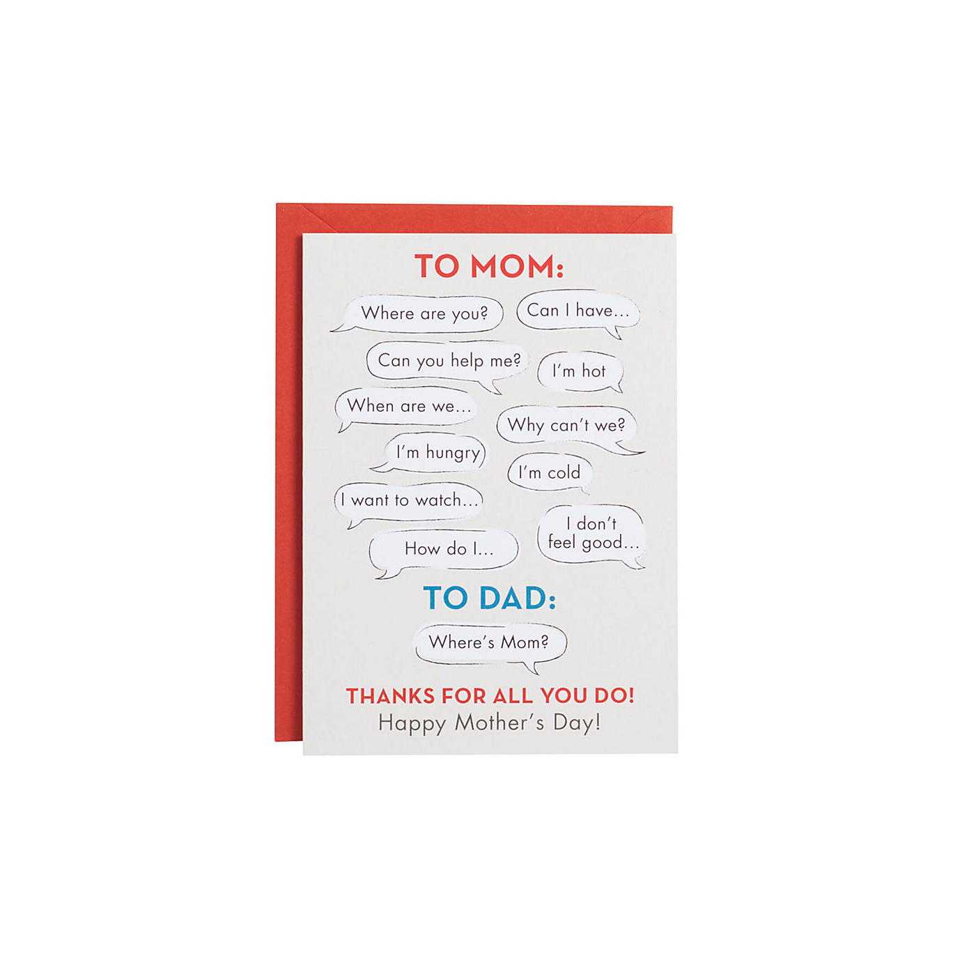 20 mothers day cards that perfectly sum up your feelings real simple mom vs dad mothers day card m4hsunfo